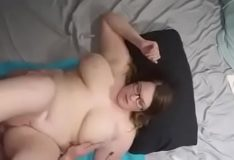 Hot Nerdy Daughter Deep Fucked By Dad