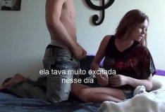 novinha brasileira amadora se preparou pra foder
